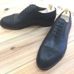 野生鹿革と、その鹿革を使った印伝の靴