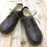 野生鹿革で仕立てた婦人靴♪