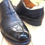 靴修理とご一緒に靴磨きはいかがですか? ^^