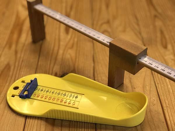 【店主は午後から不在となります】こどもたちの足の健康を守る取り組みとして、新入園児の足の測定を幼稚園で行います♪